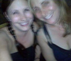 Rach and me on a good day... Green Day concert in LA 2009