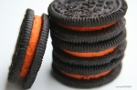 Halloween Oreos with artificial colors made from chemicals